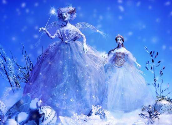 """At the Astrakhan theatre of Opera and Ballet 2017 year begins with the musical fairy tale """"Crystal Shoe"""""""