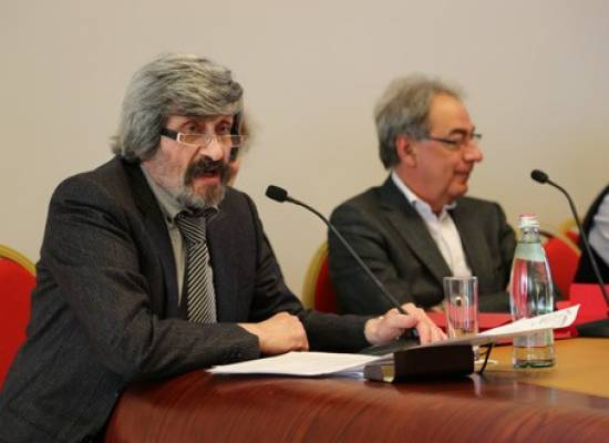 Valery Voronin participates in a meeting of Professional Guild of theatrical managers
