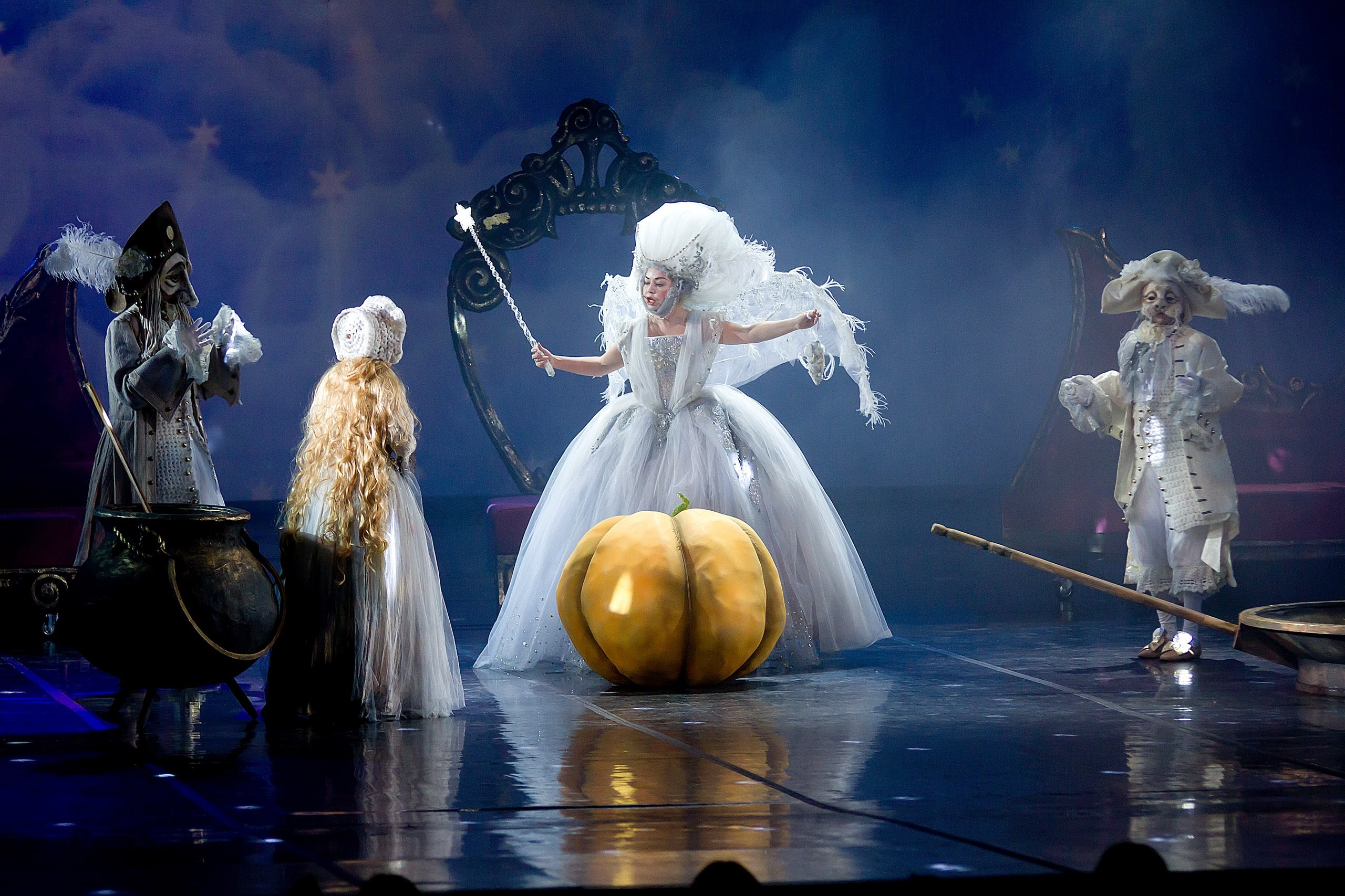 """On the Big stage of the Astrakhan theatre of Opera and Ballet fairy tale """"Crystal Shoe"""" is once again."""