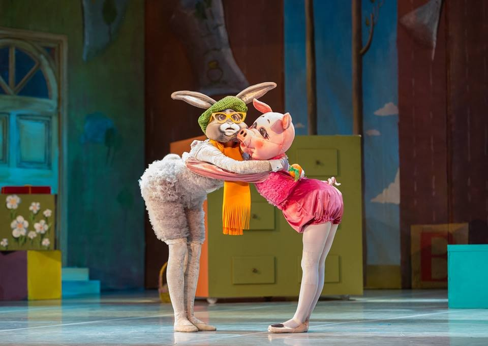 """Premiere of the ballet """"The Adventures of Winnie the Pooh"""""""