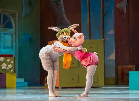 "Premiere of the ballet ""The Adventures of Winnie the Pooh"""