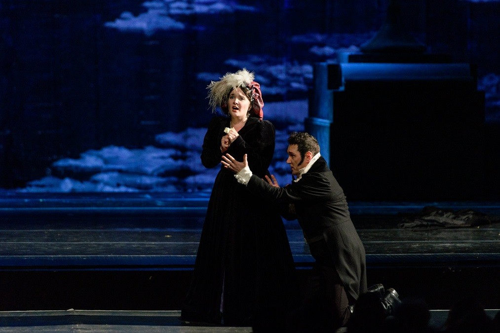 """We invite you to see the opera """"Eugene Onegin"""" on June the 6th"""