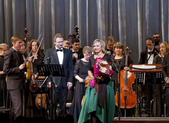 """A magnificent concert """"At the End of the Great Epoch"""" was held in the Astrakhan Opera and Ballet Theatre"""