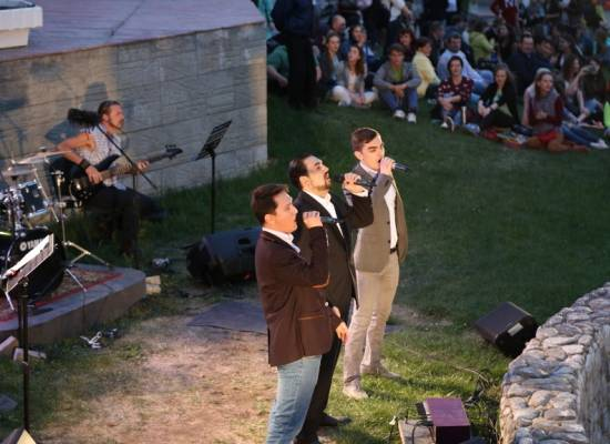 """The long-awaited festival """"Music on the Grass"""" is open"""
