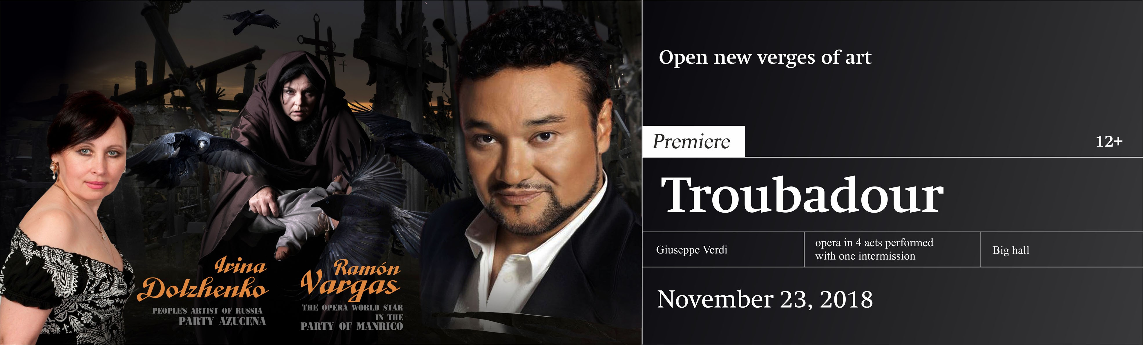 Premiere of the Opera «Troubadour»