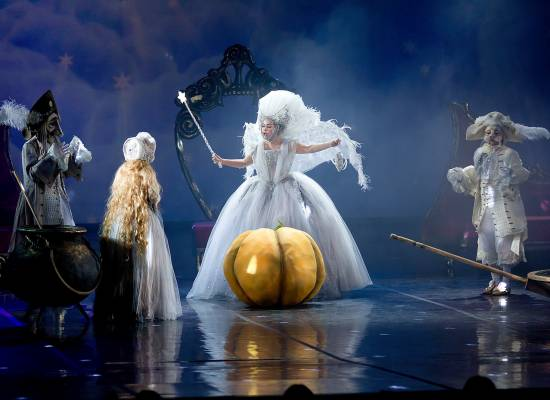 "On the Big stage of the Astrakhan theatre of Opera and Ballet fairy tale ""Crystal Shoe"" is once again."
