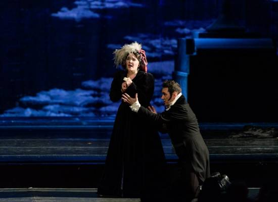 "We invite you to see the opera ""Eugene Onegin"" on June the 6th"